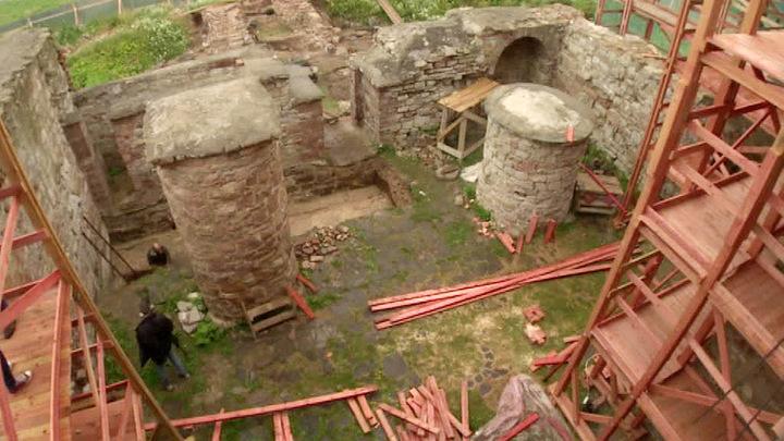 В Великом Новгороде отреставрировали средневековый варган
