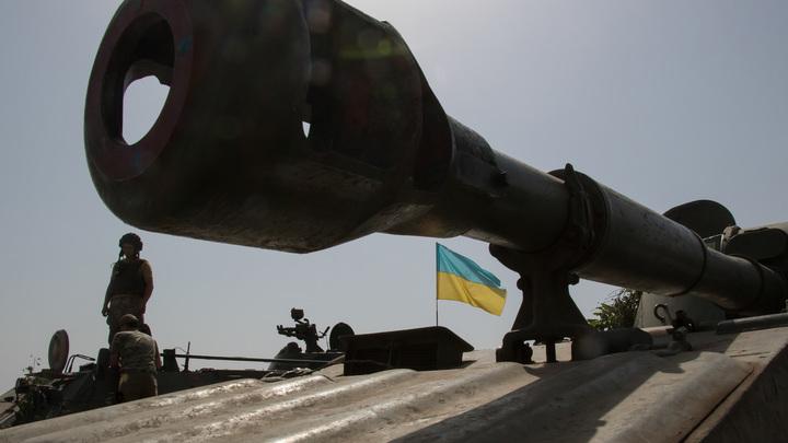 """В Донбассе замечены украинские танки и """"Осы"""""""