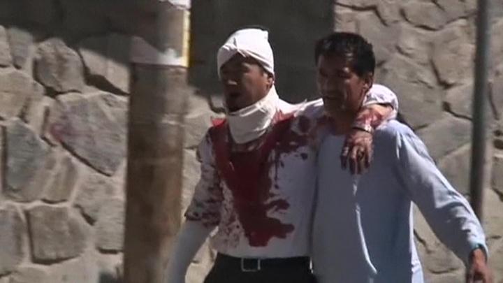 Афганскую свадьбу обстреляли из миномета
