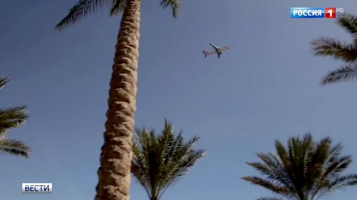 Президенты России и Египта обсудили возобновление полетов на курорты Красного моря