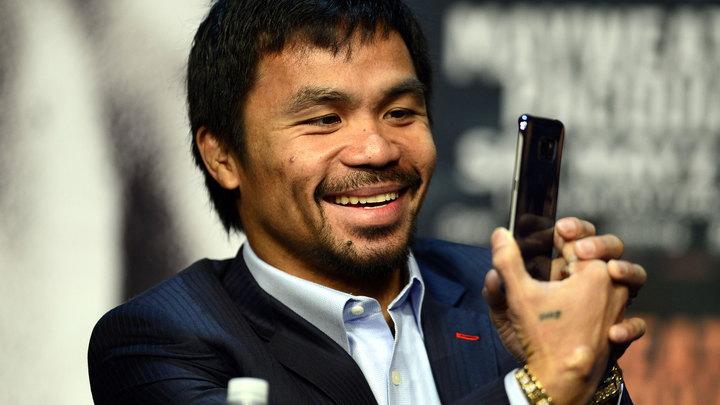 Экс-чемпион мира Пакьяо баллотировался на пост президента Филиппин