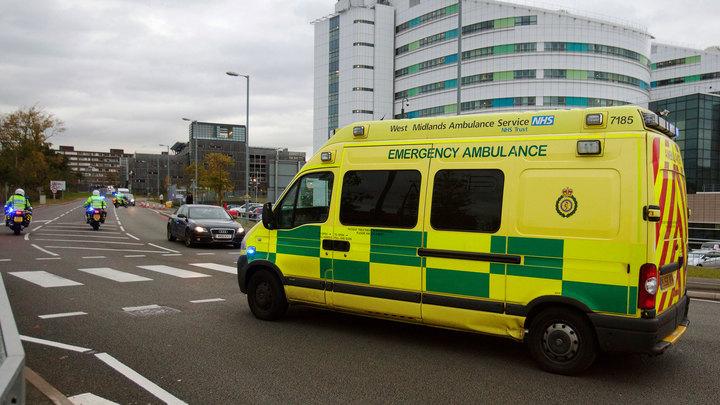 Мощный взрыв прогремел в английском городе Ройал-Лемингтон-Спа