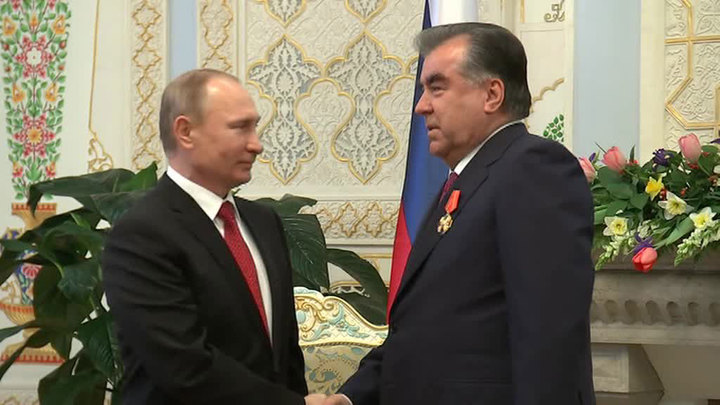У Путина накануне Дня Победы запланированы переговоры с Рахмоном