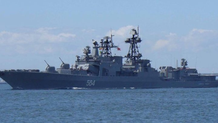 """""""Адмирал Трибуц"""" не дал американскому эсминцу просочиться в Россию"""