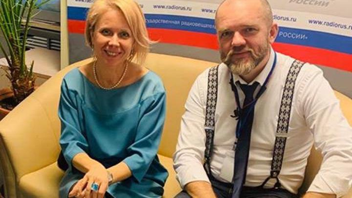 """Историк Наталия Таньшина в студии """"Радио России"""""""