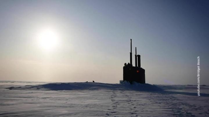 В Арктике сквозь льды всплыла американская атомная подлодка