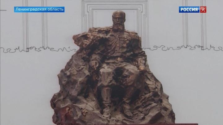 В Гатчине заложили камень в основание памятника Александру III