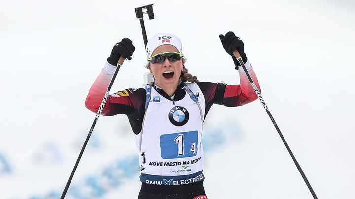 Норвежка Экхофф стала чемпионкой мира в спринте