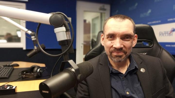 """Александр Родин в студии """"Радио России"""""""