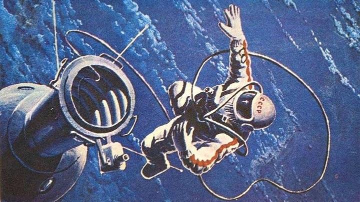 55 лет со дня первого выхода человека в открытый космос