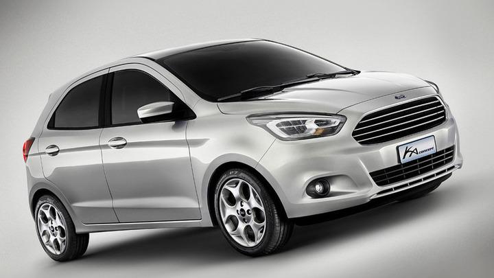 Маленький Ford Ka вернется в Европу через два года