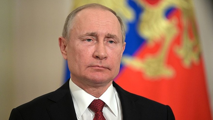 Обращение Владимира Путина к гражданам России из-за коронавируса