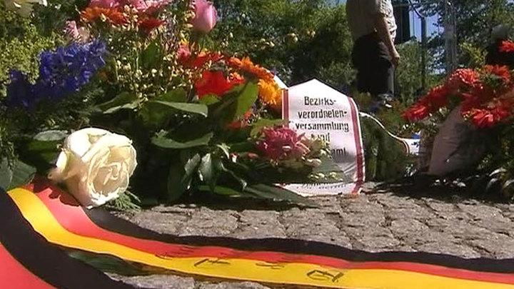 В Берлине вспоминают подвиг советских солдат