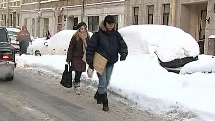 40% месячной нормы осадков выпало в Петербурге за прошлую ночь