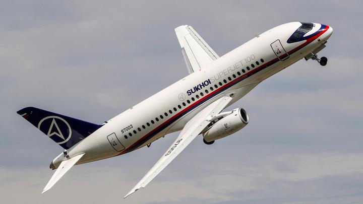 Sukhoi SSJ-100 не долетел до Грозного из-за невозможности техобслуживания