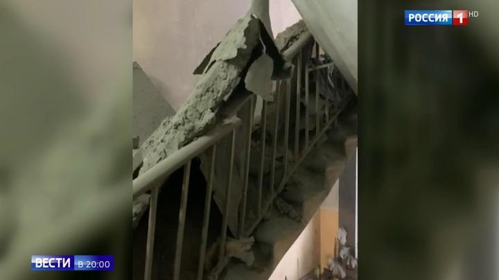 СКР установит виновника обрушения перекрытий в столичном доме