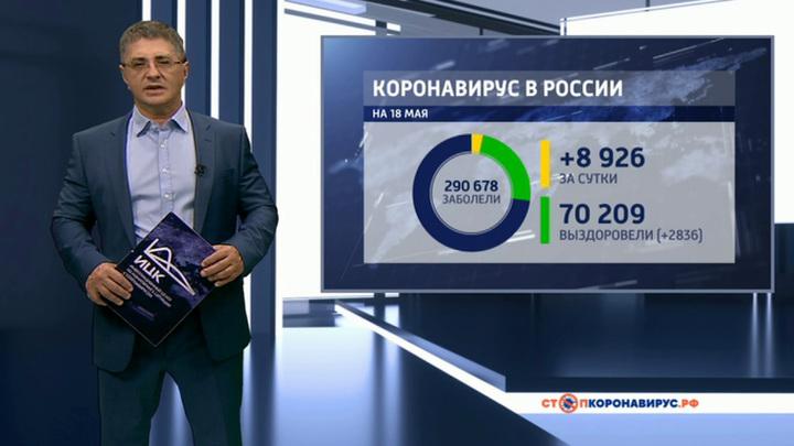COVID-19: в России снижается прирост новых случаев болезни