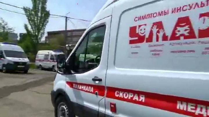 Один из пострадавших при пожаре в гостинице в Хасавюрте получил ожоги 100% тела
