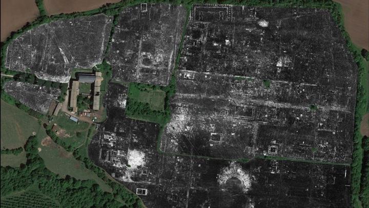 Георадар позволил составить подробную карту античного города без раскопок.