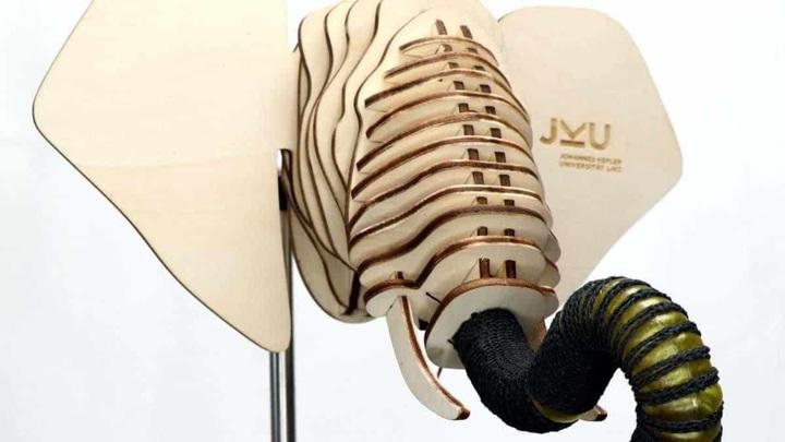 Новый робот в виде хобота слона выдержал сотни сгибаний и разгибаний.