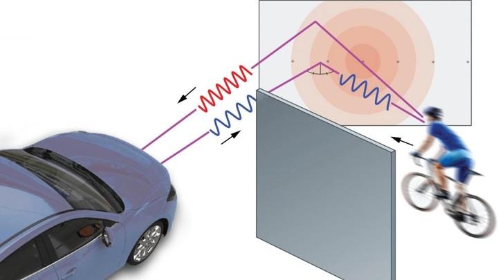 Автомобили получат радар, заглядывающий за угол