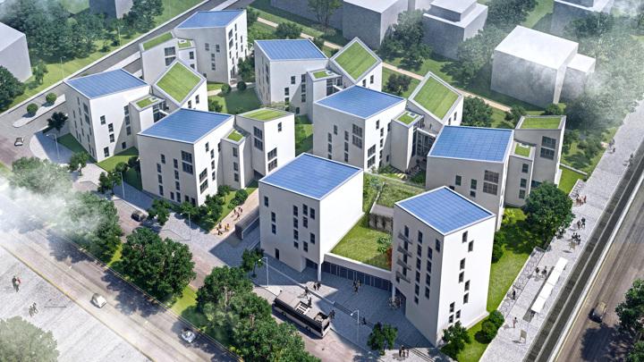 """""""Умный город"""", использующий технологии Panasonic, открылся на юге Берлина"""