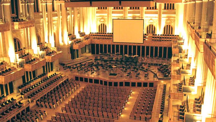 Концертный зал Сан-Паулу (Бразилия). Внутренний интерьер | knownway.com