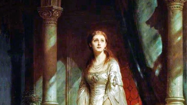 "Томас Фрэнсис Дикси: ""Джульетта"" 1877"