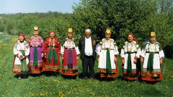 Этнографический ансамбль села Прудки. Фото из личного архива Т. И. Молчановой