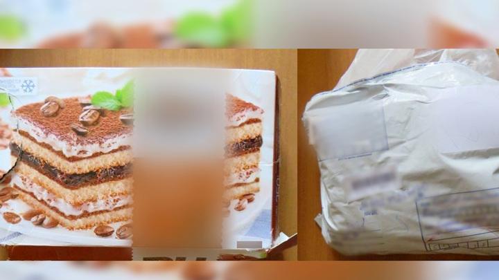 Мошенник отправил женщине по почте торт вместо телефона