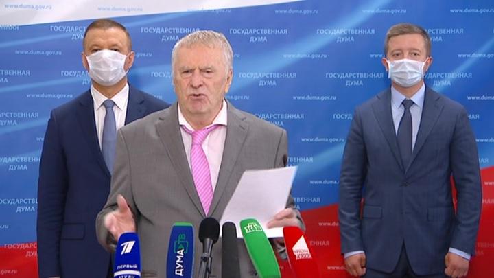 Жириновский назвал кандидатов в президенты на 30 лет вперед