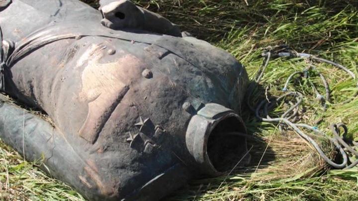 Польские вандалы изуродовали и обезглавили статую маршала Рокоссовского