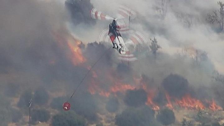 В США и Европе бушуют лесные пожары, на Южную Корею обрушились ливни