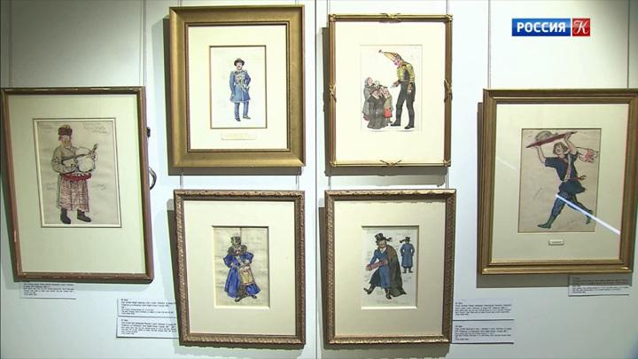 В Доме русского зарубежья открылась выставка живописи и графики Александра Бенуа