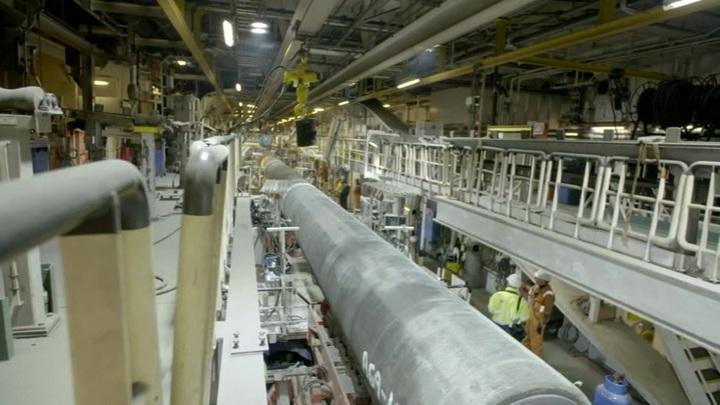 """""""Северный поток-2"""" планируют достроить до июня"""