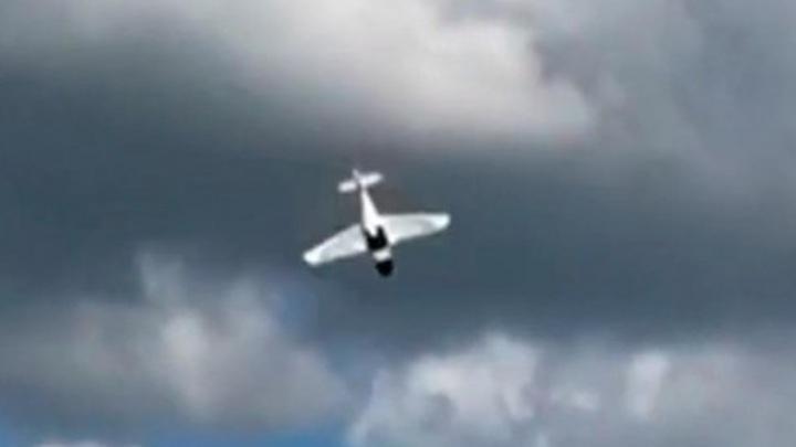 Самодельный легкомоторный самолет упал в Татарстане