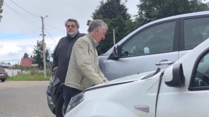 Инцидент под Новгородом: Ширвиндт попал в аварию впервые за 70 лет