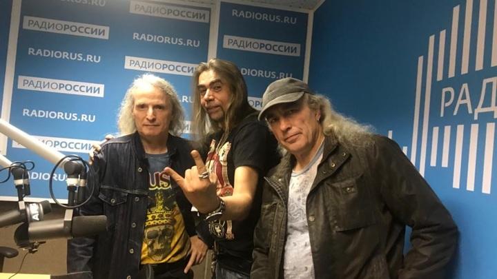 Дмитрий Добрынин с гостями программы - Аликом Грановским и Алексеем Lexx Кравченко