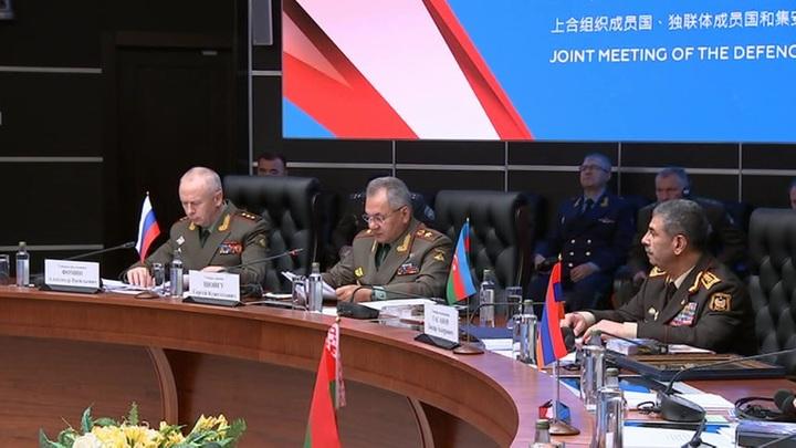Шойгу оценил масштабность международной встречи в Кубинке
