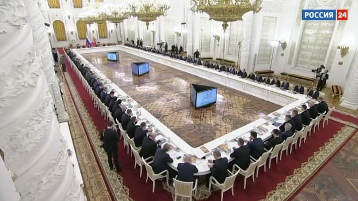 Путин объяснил, почему Госсовет должен быть закреплен в Конституции