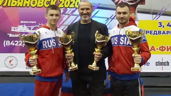 Череповчанин занял первое место в чемпионате России по кикбоксингу