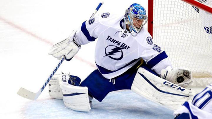 Василевский признан первой звездой недели в НХЛ