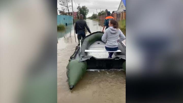 Хабаровск продолжает уходить под воду