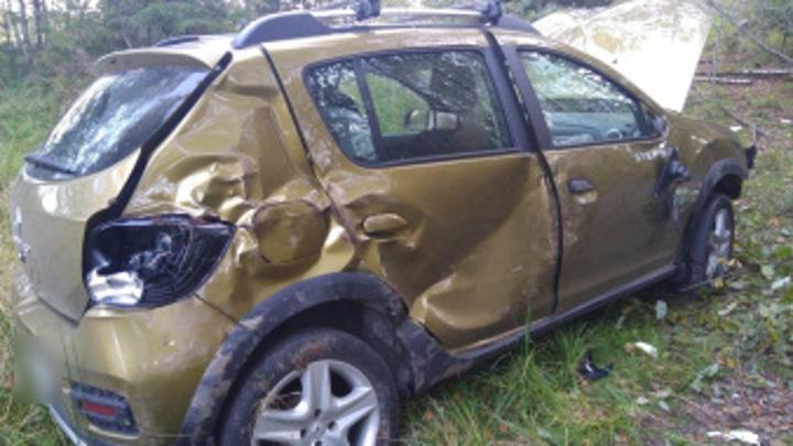 Два автомобиля за один день вылетели в кювет в Тверской области