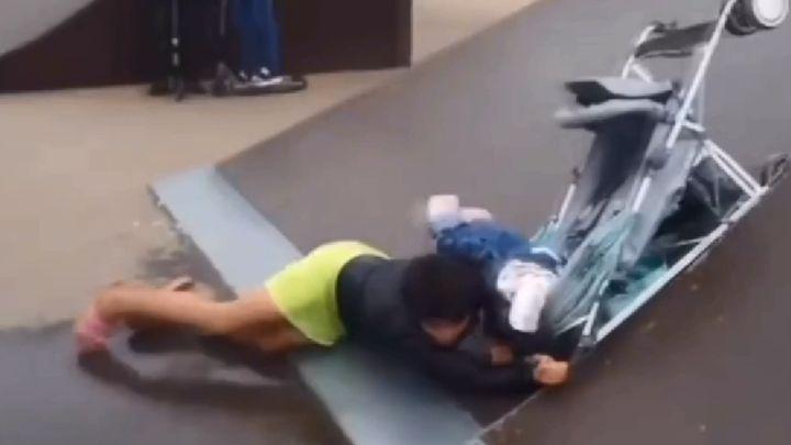 На мать, уронившую ребенка в скейт-парке города Ефремова, завели дело