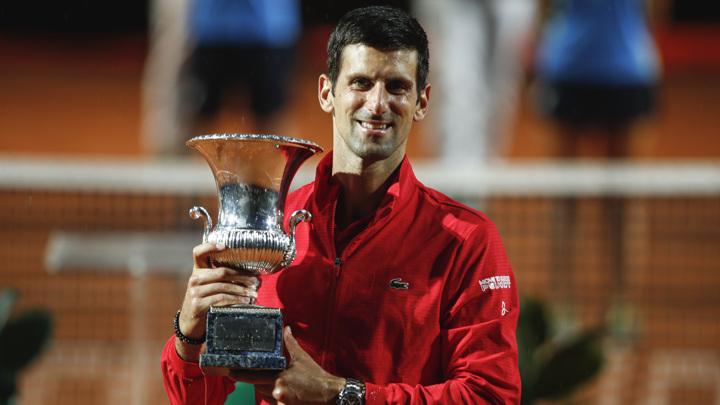 Джокович стал пятикратным чемпионом римского Masters