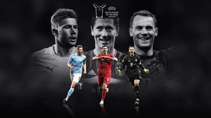 УЕФА назвал мужскую и женскую команды года