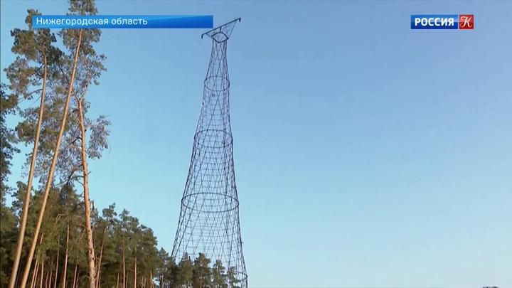 Шуховская башня в Дзержинске открылась после реконструкции