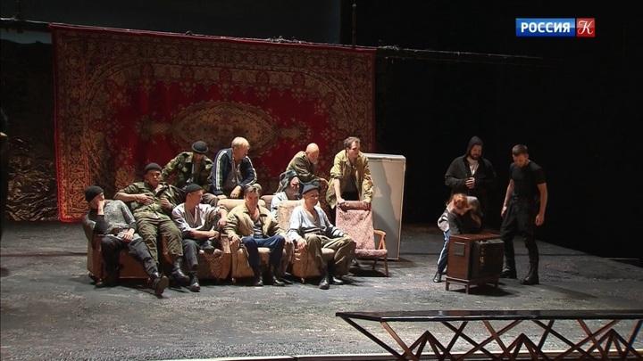 Театр на Малой Бронной покажет премьеру спектакля «Бульба. Пир»