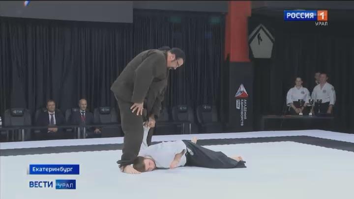 Стивен Сигал провел в Екатеринбурге мастер-класс по айкидо